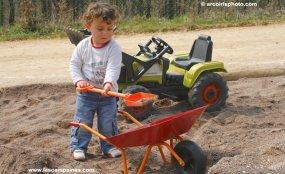 jeux de sable
