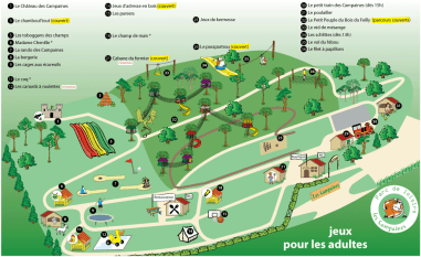 "plan du parc - ""adultes"""