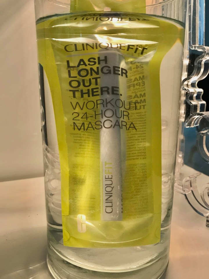 Test CliniqueFit – Lash Longer Out There