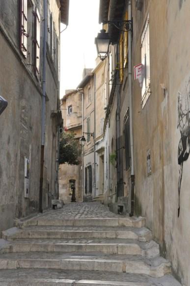 Une rue d'Arles