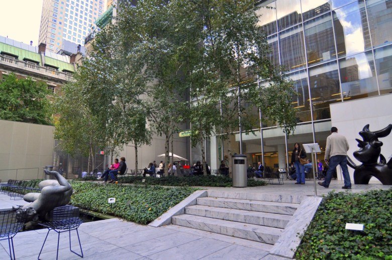 Jardin du MOMA de New York