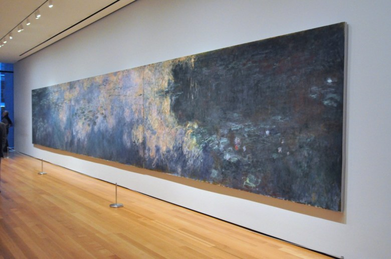 Nympheas de Claude Monet au MOMA