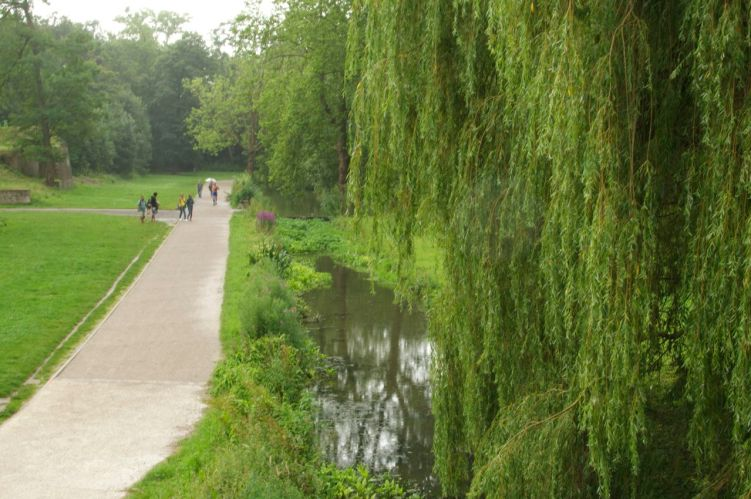 La promenade autour de la citadelle de Lille