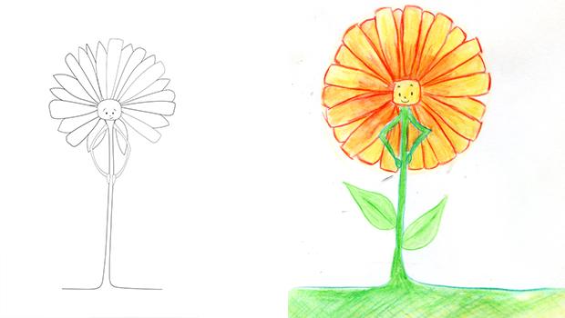 Comment Dessiner Une Fleur Archives Les Carnets De Céleste
