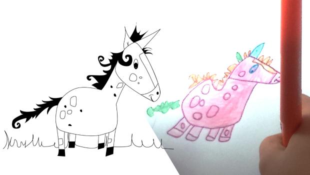 comment dessiner une licorne - Comment Dessiner Une Licorne