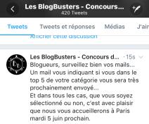 Blogbusters Les Carnets d'une Quadra