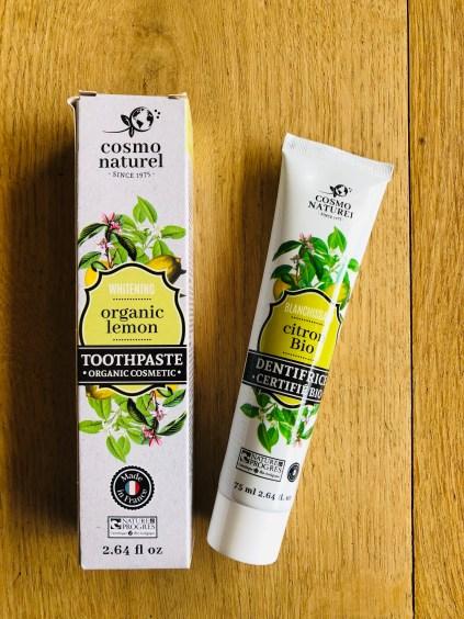 Les fées Nature bio dentifrice