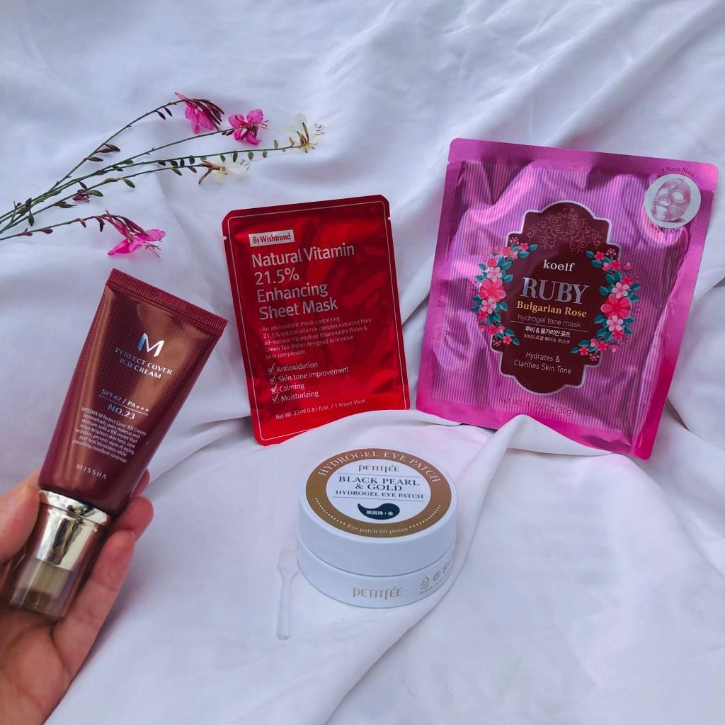 Niasha cosmétiques coréens