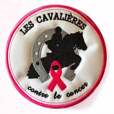 Ecusson des Cavalières contre le cancer