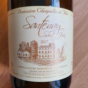 Santenay Saint-Jean de Domaine Chapelle et Fils – 2017