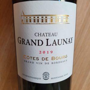 Château Grand Launay – Côtes de Bourg 2019