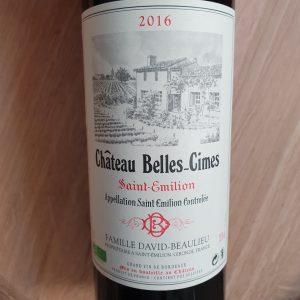 Château Belles-Cimes – Saint-Emilion 2016