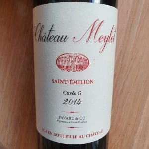 Château Meylet Cuvée G – Saint-Emilion 2014