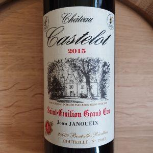 Château Castelot – Saint-Emilion Grand Cru 2015