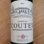 Château Coutet – Saint-Emilion Grand Cru 2017