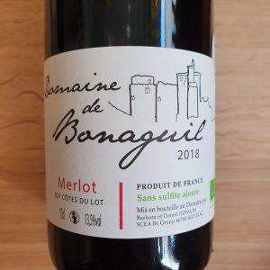 Domaine de Bonaguil – Merlot 2018