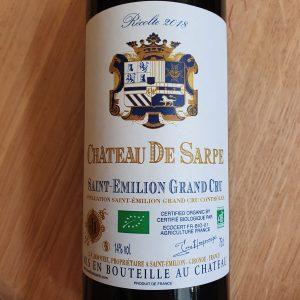 Château de Sarpe – Saint-Emilion Grand Cru 2018
