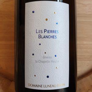 Les Pierres Blanches de Domaine Luneau Papin 2019