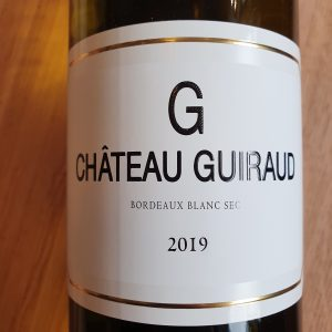 """""""G"""" de Château Guiraud – Bordeaux Sec – 2019"""