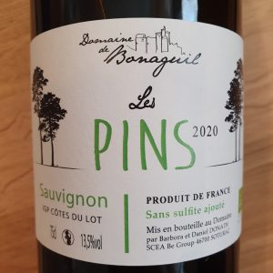Les Pins du Domaine de Bonaguil – Sauvignon 2020