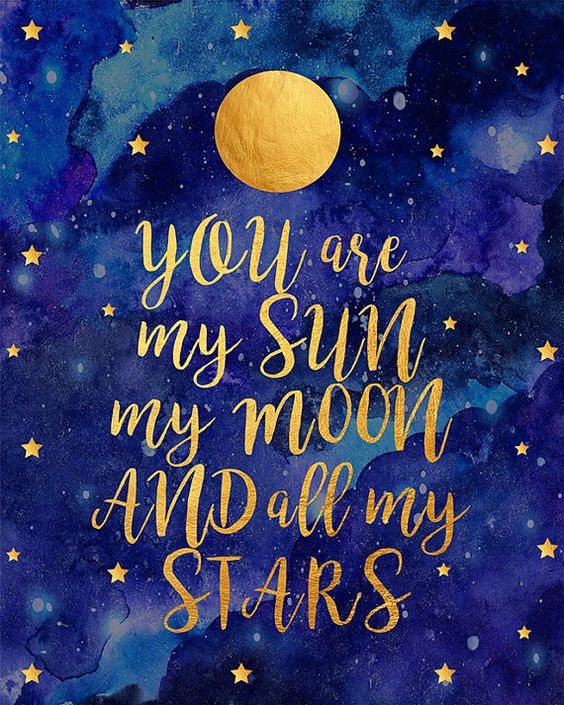 moon and star quotes