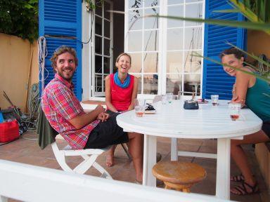 Avec Anne-Laure et Amaury