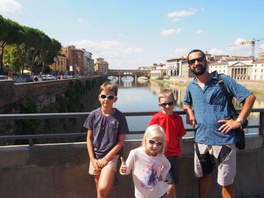 Photo souvenir Ponte Vecchio