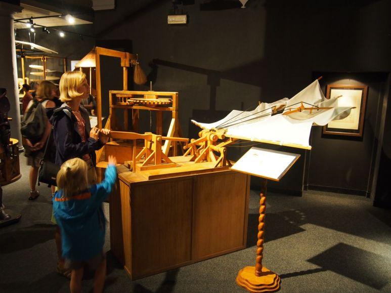 Firenze : Visite du musée de Léonard de Vinci