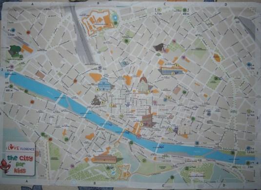 Firenze : carte de la ville