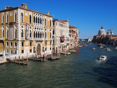 Venise : Le grand canal
