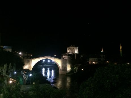 "Pont de Mostar ""by night"""