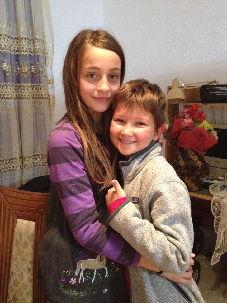 Inès et sa copine Alisa