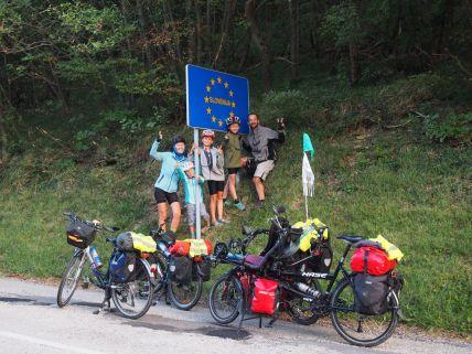 Passage en Slovénie