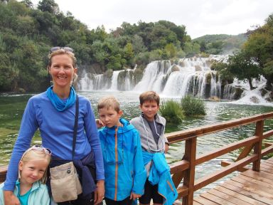 Les chutes de Krka (Croatie)