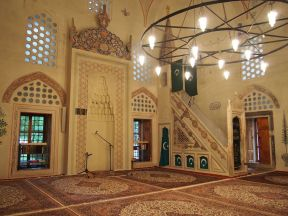 Visite d'une mosquée à Mostar