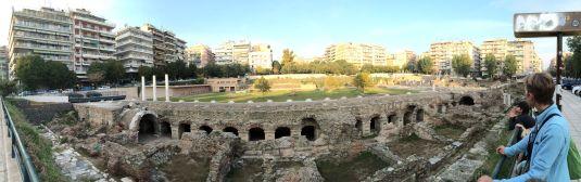 L'ancienne agora de Thessalonique