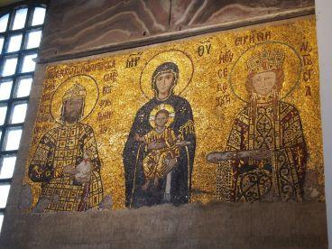 Les mosaïques dorées de Sainte-Sophie