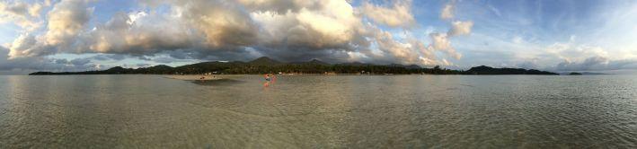 Promenade à marée basse (Koh Phangan)
