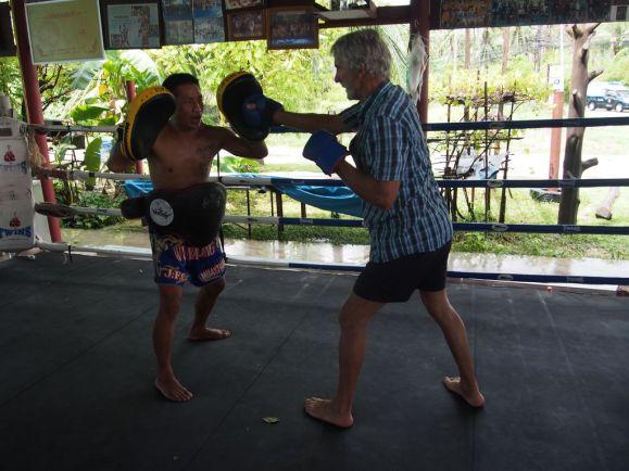 Découverte de la boxe Thaï en famille (2)