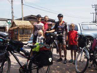 Un des multiples cyclotouristes que nous croisons sur les routes