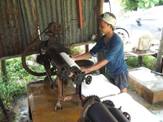 Fabrication du caoutchouc