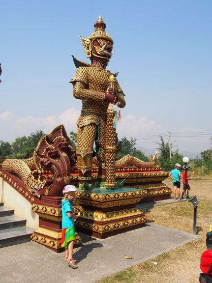 Visite d'un temple