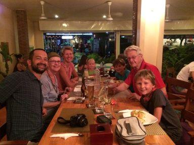 Retrouvailles avec Jeanne et Vincent à Siem Reap
