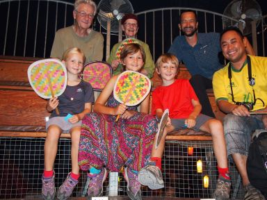 Avec Jeanne et Vincent au cirque Phare