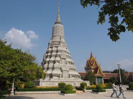 Pagode d'argent : Stupa des Sihanouk