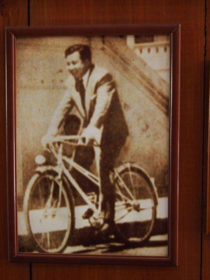 Norodom Sihanouk aussi aimait le vélo