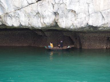 Le bleu turquoise de la Baie d'Halong