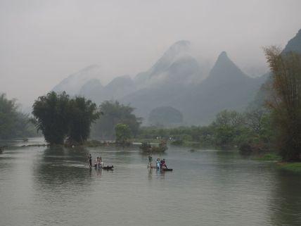 La région de Guilin - Yangshuo est superbe