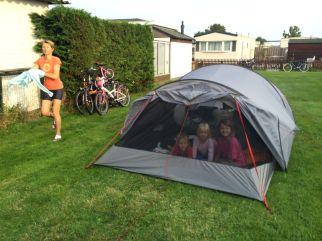 Les joies du camping!