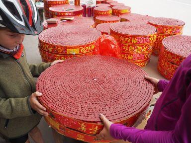 Les pétards c'est du sérieux en Chine !